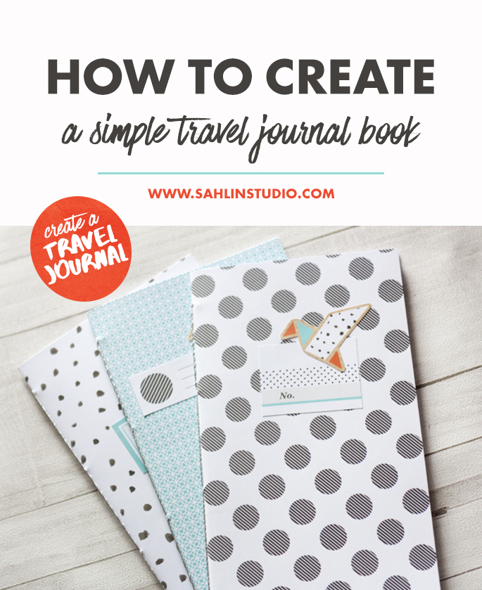 How To Create A Simple Travel Journal by Nikki Kehr