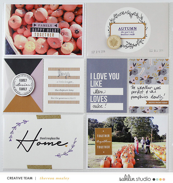 Hybrid Hybrid Project Life by larkindesign using Kindred by Sahlin StudioProject Life using Kindred by Sahlin Studio