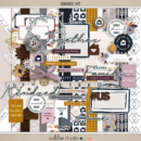 Kindred Kit by Sahlin Studio - Perfect for digital scrapbooking or your Project Life album!