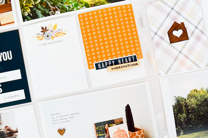 Autumn / Fall Pocket Pages - Amy Challis
