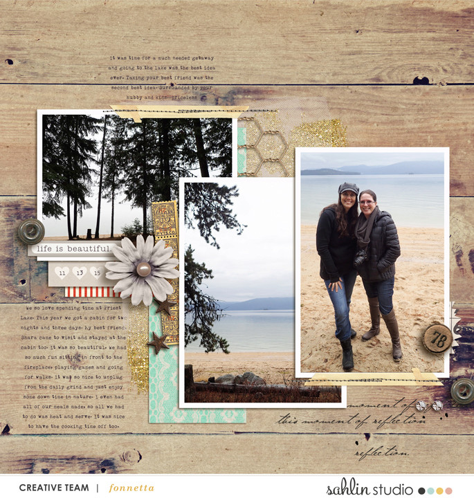 layout created by fonnetta featuring products by Sahlin Studio