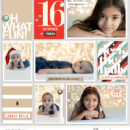 Digital Project Life page using Oh What Fun - Digital Printable Scrapbooking Kit by Sahlin Studio