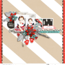 Digital scrapbooking page using Oh What Fun - Digital Printable Scrapbooking Kit by Sahlin Studio
