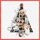 Christmas Eve digital scrapbooking page using Oh What Fun - Digital Printable Scrapbooking Kit by Sahlin Studio