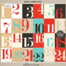 Number | Journal Cards - Digital Printable Scrapbooking Journal Card Pack by Sahlin Studio - Perfect for your Project Life or December Daily albums!!