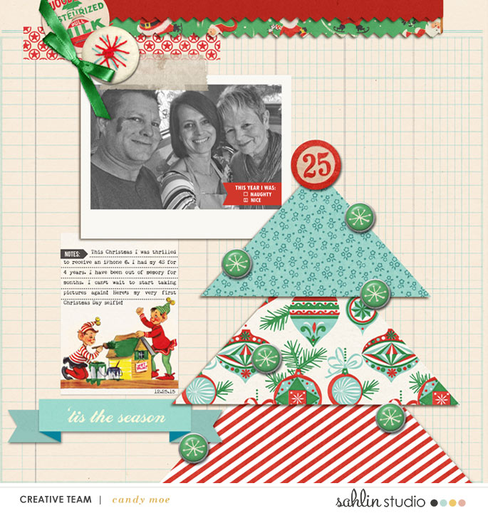 layout by ctmm4 featuring Santa's Workshop by Sahlin Studio