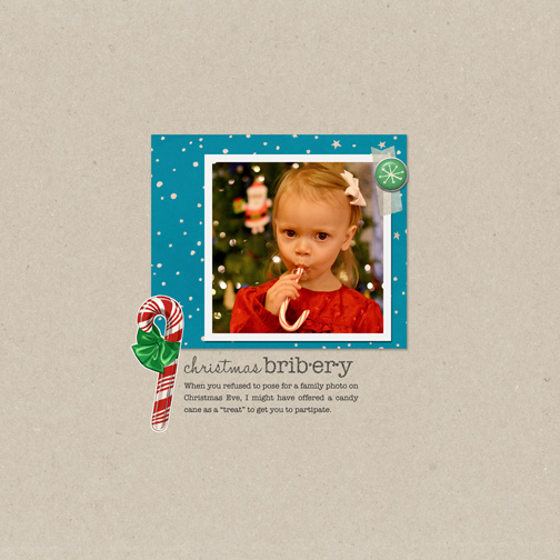 Featured Kit Challenge Winner layout by spcoggs featuring Santa's Workshop by Sahlin Studio