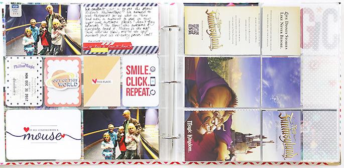 Sahlin Studio Creative Team Theresa Moxley | Disney Project Life #7 Mickey's PhilharMagic