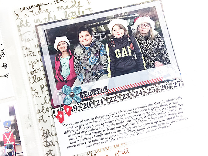Sahlin Studio December Daily Recap | Creative Team Member Theresa Moxley