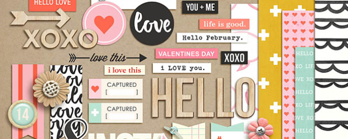 Hello (Kit Sampler) by Sahlin Studio