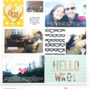I LOVE You!! Digital Scrapbooking layout using Clean Lined Pocket Templates - It keeps the clean lines of the classic pocket templates we know, but with more visual interest to keep things exciting!