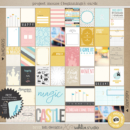 Project Mouse (Beginning): Journal Cards | by Britt-ish Designs and Sahlin Studio - Perfect for your Disney / Disneyland Project Life or scrapbook layouts!