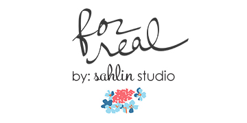 For Real by Sahlin Studio - Digital and Printable Journal Cards perfect for scrapbooking or Project Life!
