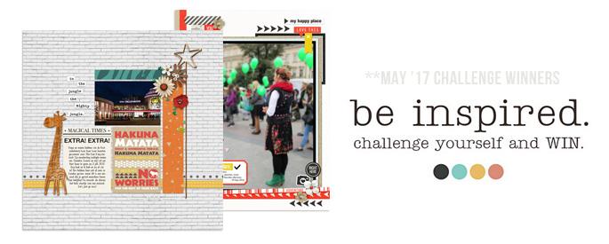 May 2017 Challenge Winnners