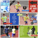 Race Day digital project life page by lowan using Project Mouse (Run) by Britt-ish Designs and Sahlin Studio