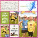 Run digital project life double page using Project Mouse (Run) by Britt-ish Designs and Sahlin Studio