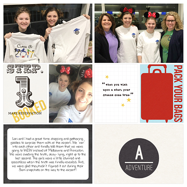 A Disney Project Mouse Story - Using the Project Life App from Jenna Fortner - Sahlin Studio Project Mouse