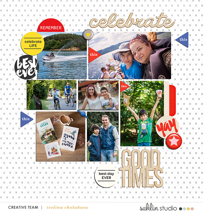 Layout by damayanti featuring July 2017 FREE Template by Sahlin Studio