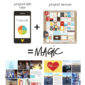 Tips for Using Project Mouse (or Digital Journal Cards) in the Project Life app