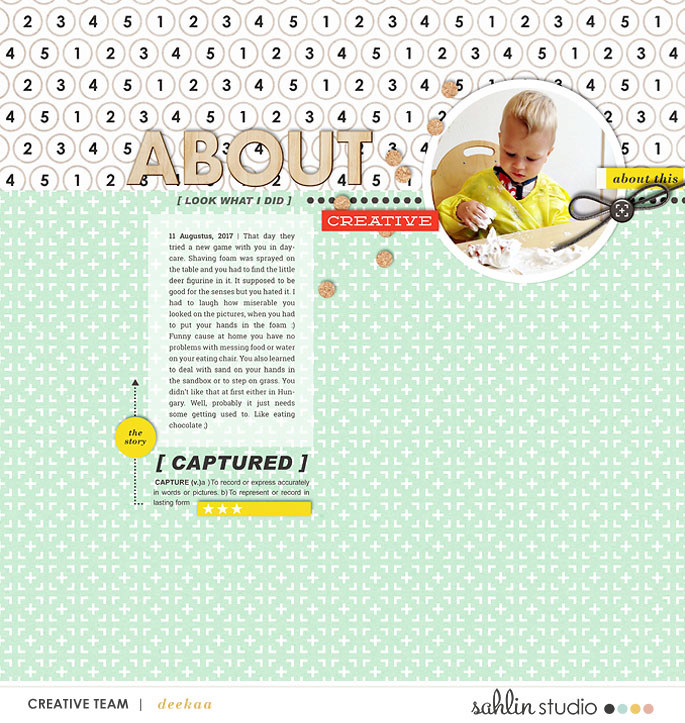 digital scrapbooking layout created by deekaa featuring Composition by Sahlin Studio