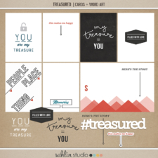 Treasured | Cards and Word Art by Sahlin Studio