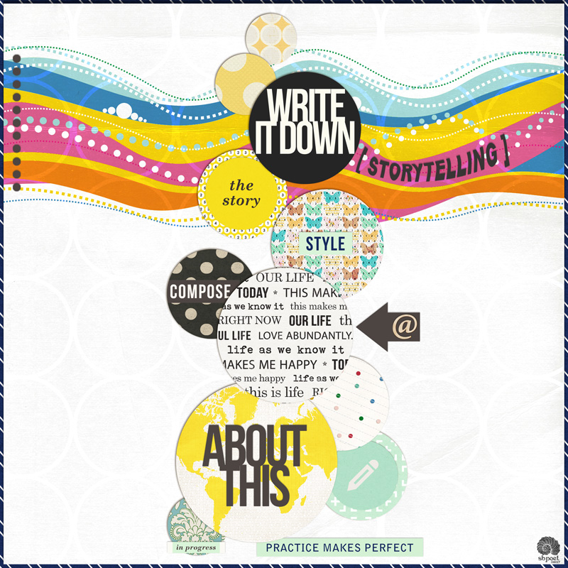 digital scrapbooking layout created by sbpoet featuring Composition by Sahlin Studio