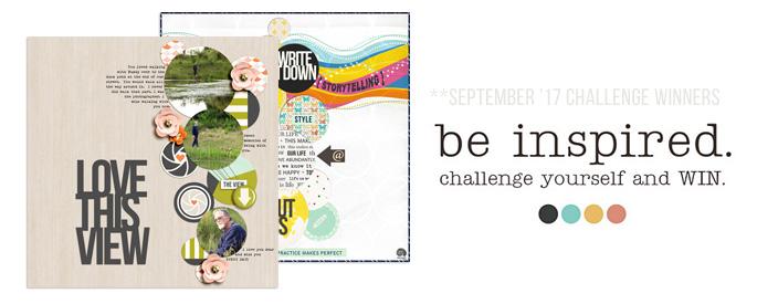 September 2017 Challenge Winners - Sahlin Studio blog