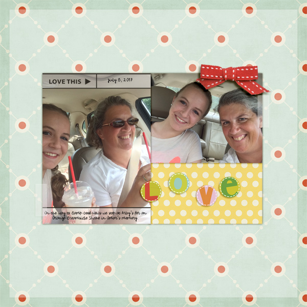 october 2017 challenge winner layout by KairynLisa featuring Photo Journal Templates by Sahlin Studio
