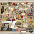 Project Mouse (Wizarding): Elements by Britt-ish Designs and Sahlin Studio - Perfect for your Universal Studios or Harry Potter Wizarding World vacation digital scrapbooking layouts or Project Life albums!!