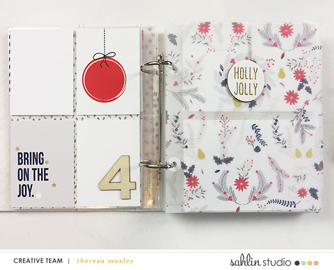 Sahlin Studio CT Theresa Moxley | Foundation Pages Day 04