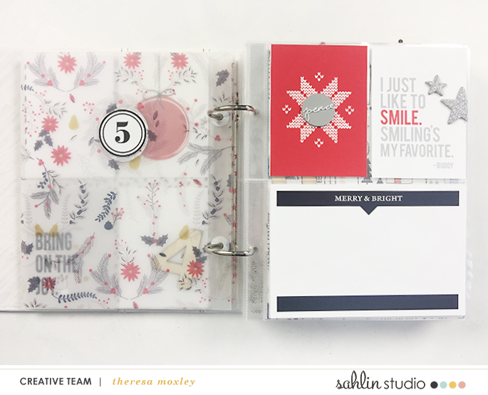 Sahlin Studio CT Theresa Moxley | Foundation Pages Day 05