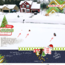 Merry Christmas Bring on the Joy digital scrapbooking layout using Project Mouse (Christmas) Pins + Artsy collection by Britt-ish Designs and Sahlin Studio