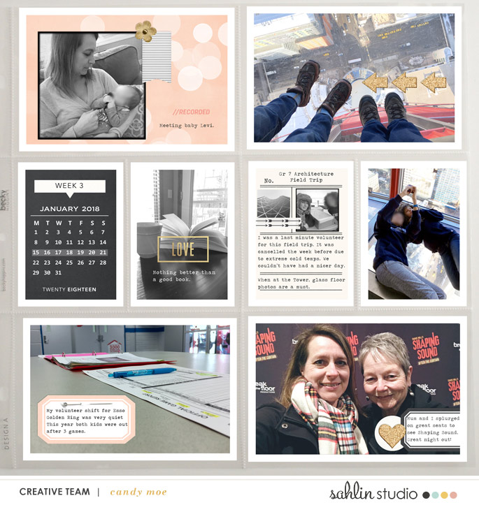 digital scrapbooking layout created by ctmm4 featuring Me & You by Sahlin Studio