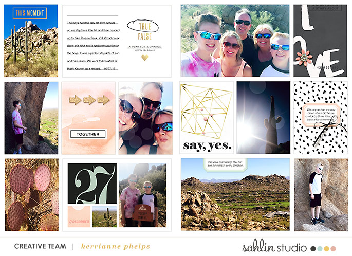 digital scrapbooking layout created by kerrianne featuring Me & You by Sahlin Studio