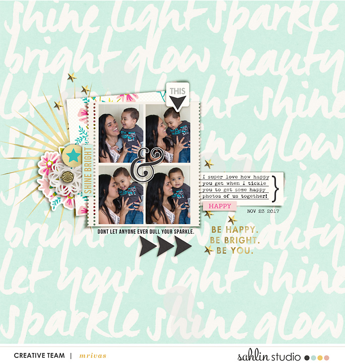 layout created by mrivas2181 featuring Shine Bright by Sahlin Studio