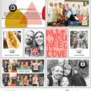 Currently Right Now digital Project Life page by lynnette featuring Currently Photo Templates and Flair Icons by Sahlin Studio
