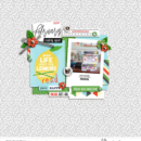 Currently Reading digital scrapbook page by pne123 featuring Currently Photo Templates and Flair Icons by Sahlin Studio