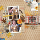 Disney digital scrapbooking page using Project Mouse (Frontier): Enamel Pins & Artsy by Britt-ish Designs and Sahlin Studio