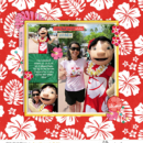 Lilo Meet and Greet digital scrapbooking page using Project Mouse (Paradise) by Britt-ish Designs and Sahlin Studio