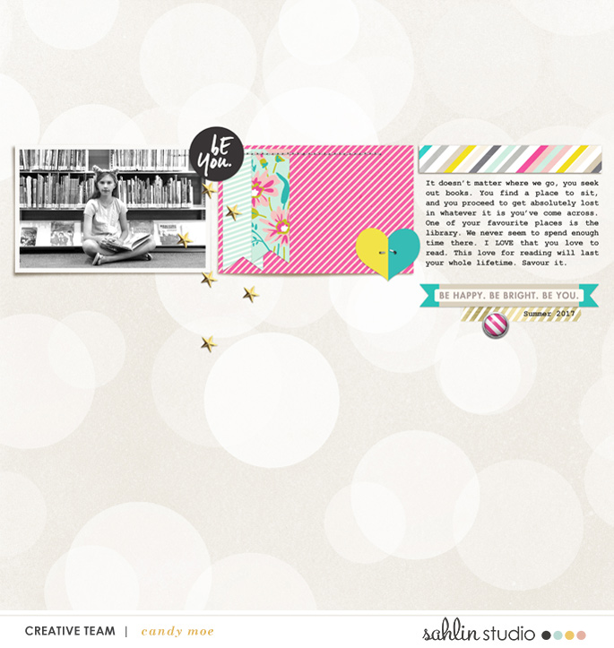 digital scrapbooking layout created by ctmm4 featuring May 2018 FREE Template
