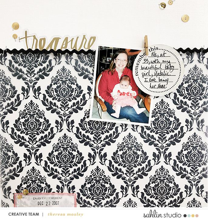 digital scrapbooking layout created by larkin design featuring Around the World by Sahlin Studio and Britt-ish Designs