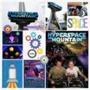 Disney Tomorrowland Space Mountain digital scrapbooking page using Project Mouse (Tomorrow): Enamel Pins & Artsy by Britt-ish Designs and Sahlin Studio