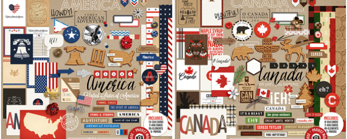 Project Mouse (World): America and Canada by Britt-ish Designs and Sahlin Studio