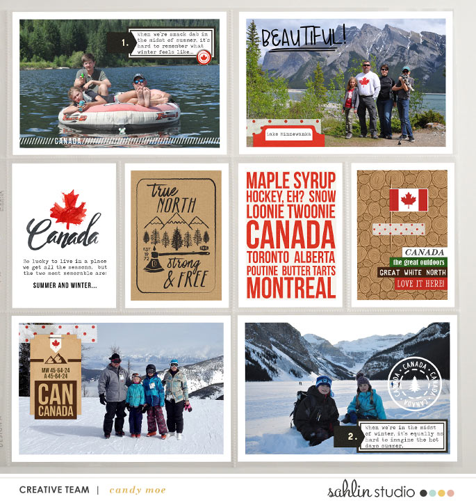 digital scrapbooking layout created by ctmm4 featuring Project Mouse (World): Canada by Sahlin Studio and Britt-ish Designs