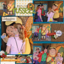 Disney Up Russell digital scrapbook Project Life page Project Mouse (Wilderness) by Britt-ish Designs and Sahlin Studio