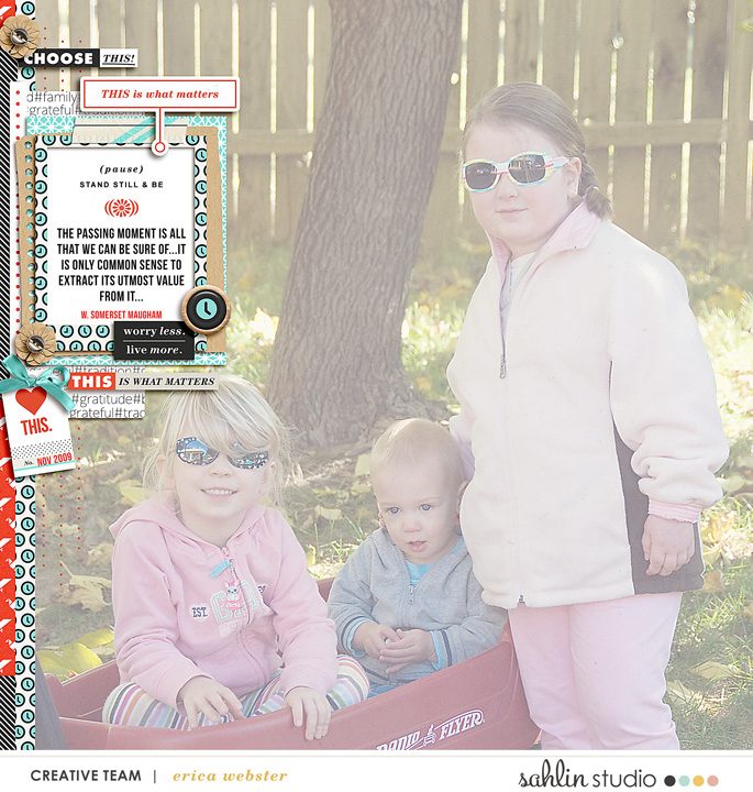 digital scrapbooking layout created by pne123 featuring Simplify by Sahlin Studio