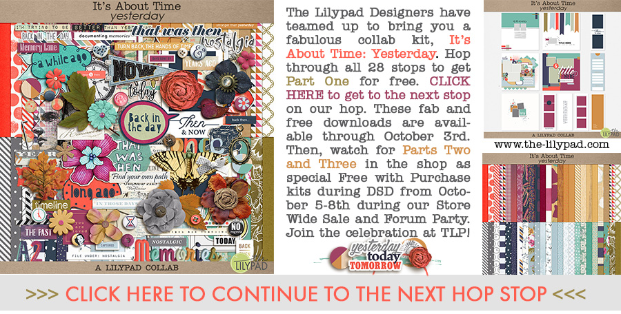 It's About Time The Lilypad Blog Hop