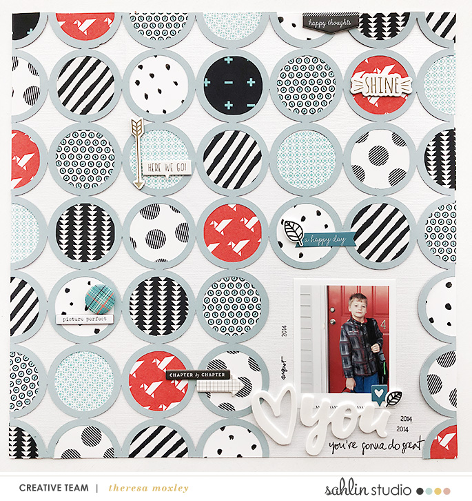 Sahlin Studio CT Theresa Moxley | Converting Template or Patterned Paper to Cut Files