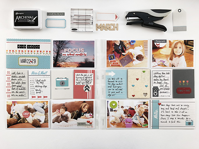layout created by larkindesign featuring Flashback by Sahlin Studio - October 2018 Featured Products