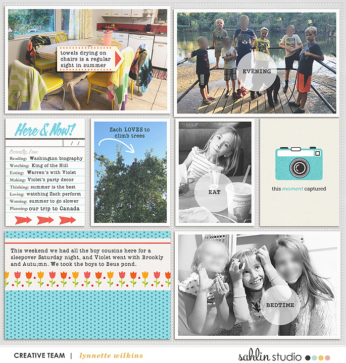 layout created by lynnette featuring Flashback by Sahlin Studio - October 2018 Featured Products
